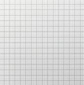 stock photo of graph paper  - Graph paper with quartered sub sections - JPG