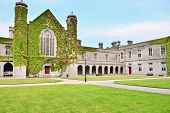 picture of galway  - The Quadrangle - JPG