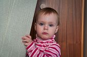 stock photo of niece  - Photo of my litle niece named Natalis - JPG