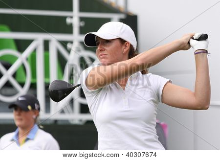 Parker (GBR) at The Evian Masters golf tournament 2011