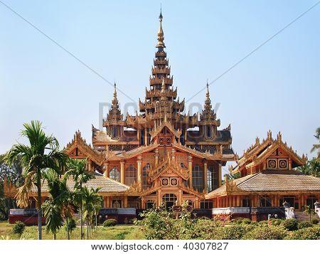 Kambawzathardi Golden Palace (palace Of Bayinnaung)