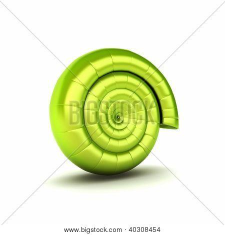 Eco Symbol With Helix