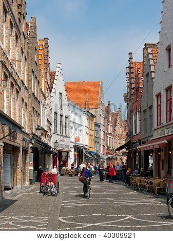 Old Streets Of Bruges