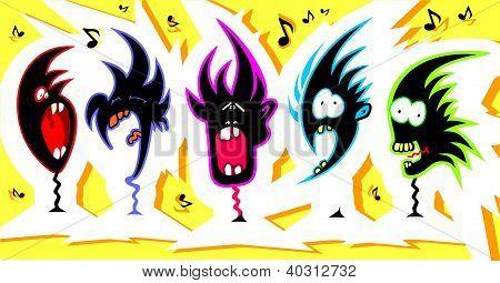 Crazy Singers.eps