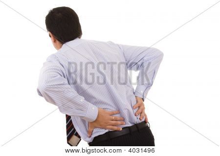 Businessman With Pain