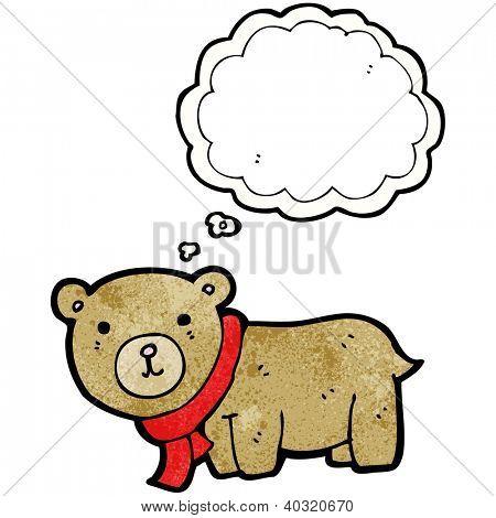 cute teddy bear cartoon
