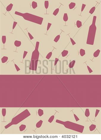 Drink Glasses Background