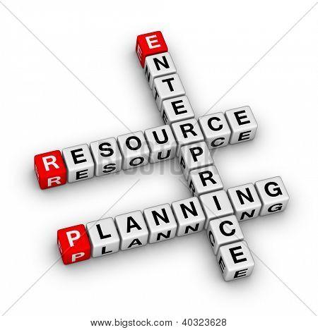 Enterprise Resource Planning (ERP) crossword puzzle