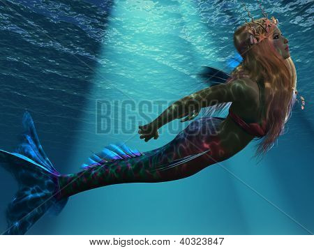 Mermaid Of The Sea