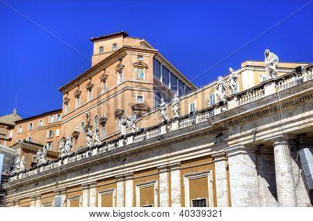 Apostolic Palace, Vatican.  Roma (Rome), Italy