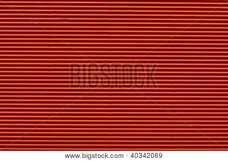 Texture Of Red Corrugated Paper For Background Use