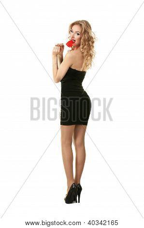 Sexy valentine girl