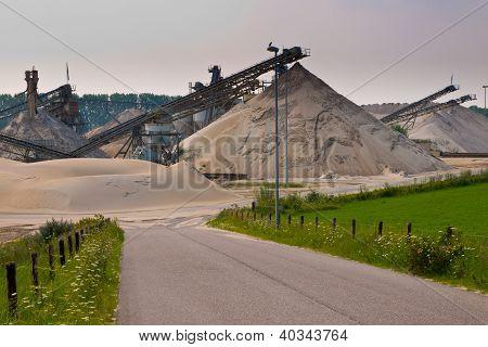 Sand Mining Site