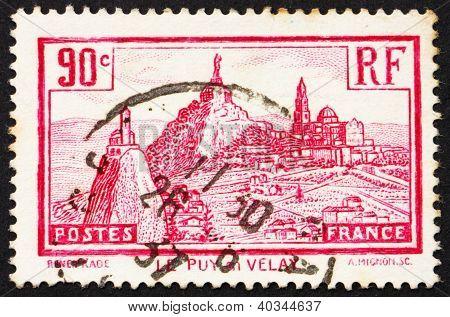 Postage stamp France 1933 Le Puy-en-Velay
