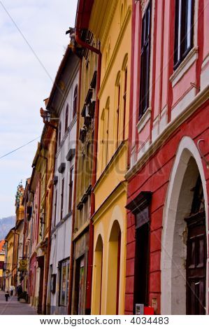 Levoca Old Town Mansions