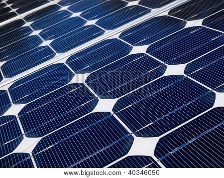 Solar Panel Is Generating Electricity