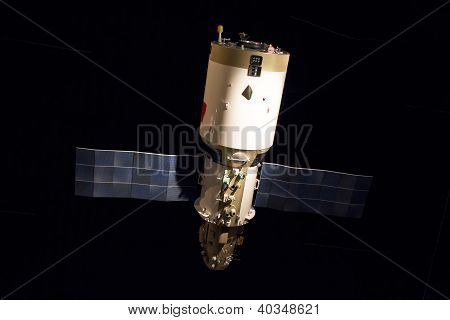 Russian Space Satellite Display