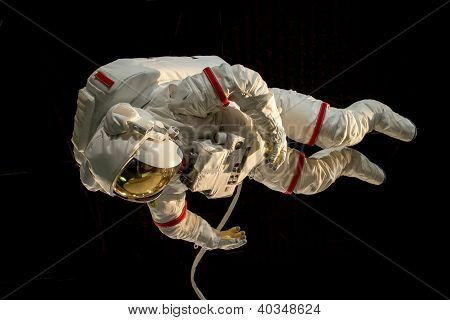 Astronaut In Space Display