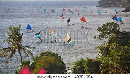 Sailing Jukungs