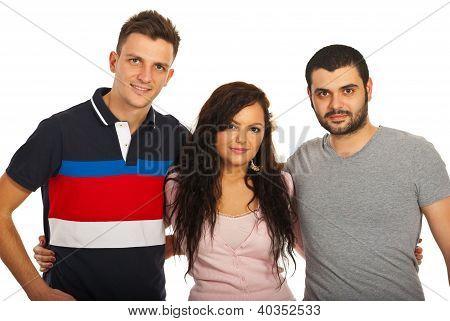 Three Friends United