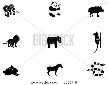 Animal icons 3
