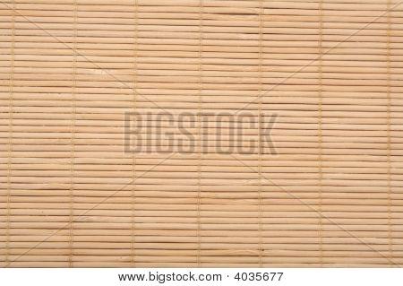 Bamboo Mat.