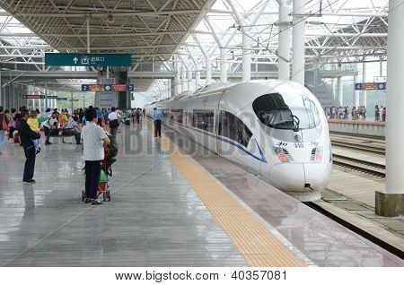 Fast Train In China