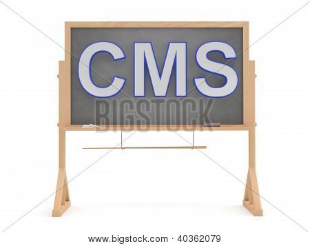 Cms Sign: 3D Content Management System Concept