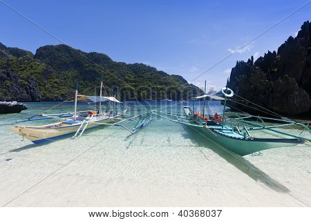 Tropical beach, El Nido, Palawan, Philippines