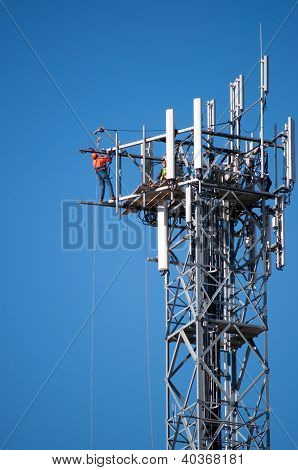 Maintenance Of A Communications Tower
