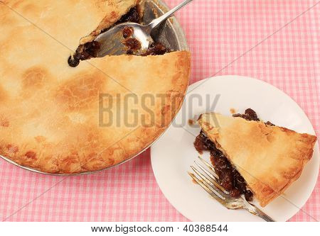 Eating Mincemeat Pie