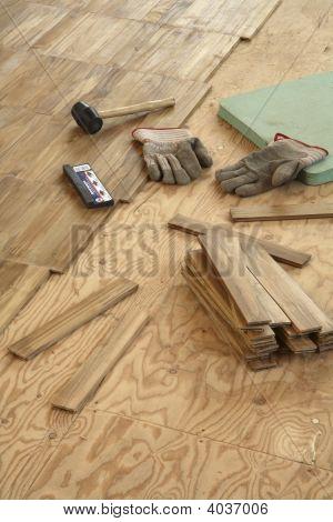 Laying Wood Flooring