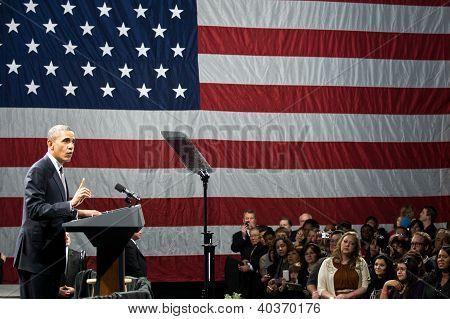 Präsident Obama Rallye