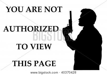 Not Authorized To View Page