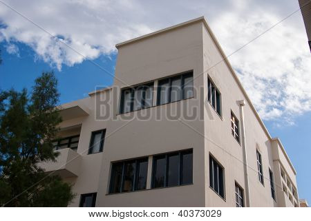 Old House In Classical Bauhaus Style