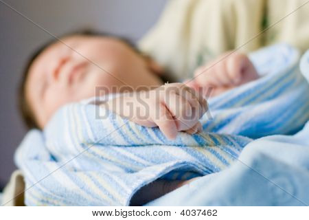 Baby Boy In Mother's Arms