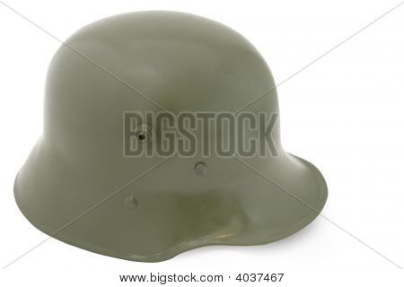 German Army Helmet From Wwi