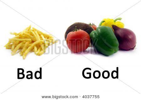 Good Healthy Food, Bad Unhealthy Food 2