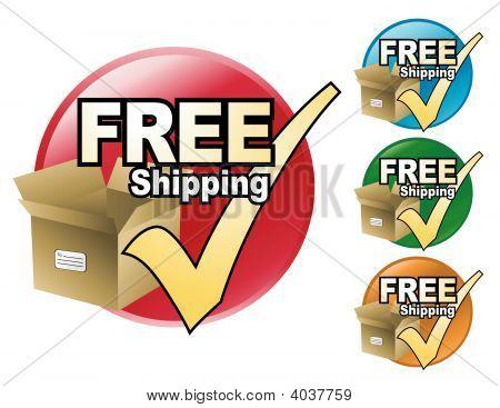 Círculo de envío gratis