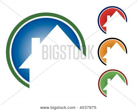 Colorful Circle Houses