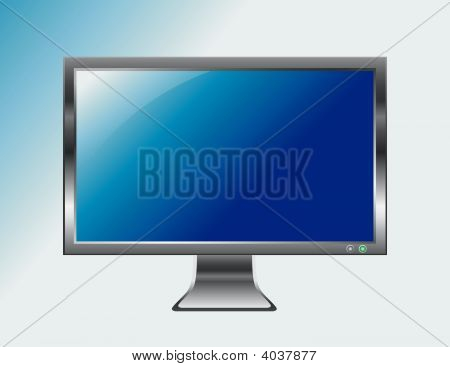 Flat Screen Television Monitor