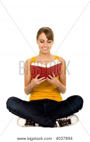 Frau Lesung Buch