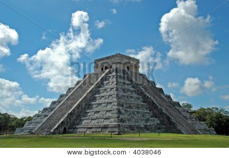 Ancient Mayan Pyramid