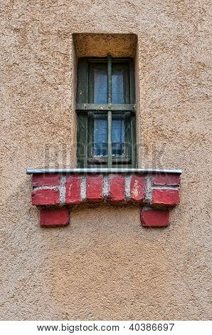 Vintage Jail Window