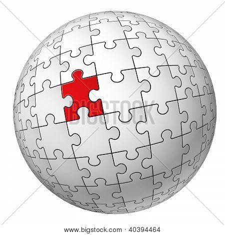 Puzzle esfera