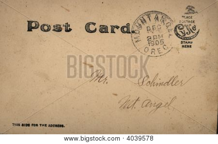 Antique Old Postcard