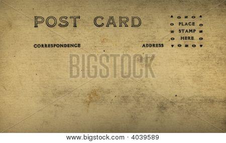 Antique Old Postcard
