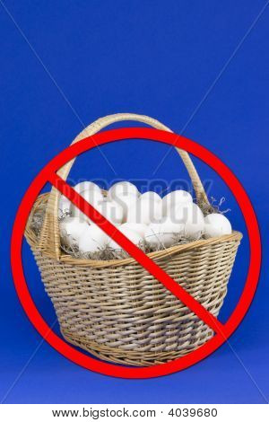 Eggs In Basket W/ No Slash