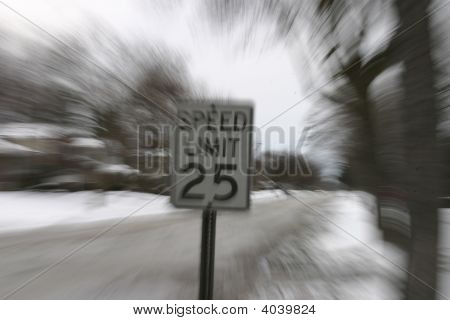 Speed-Limit-Zeichen