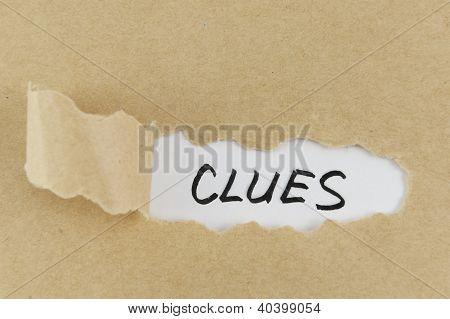 Clues Word